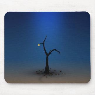 Einziger Digital-Baum Mousepad