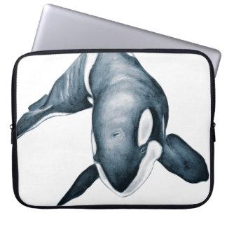 Einziger Schwertwal Laptop Sleeve