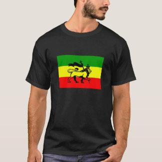 Éirebis Rastafarian Flaggen-Löwe Judah T-Shirt