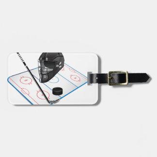 Eis-Hockey-Gepäckanhänger Gepäckanhänger