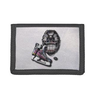 Eis-Hockey-Skate-Sturzhelm-Kobold mit Namen und