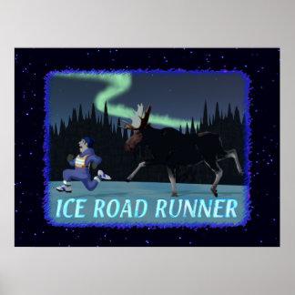 Eis-Roadrunner Poster