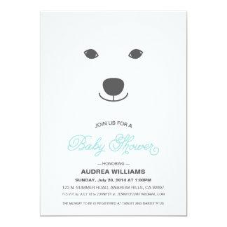 Eisbär-Babyparty-Einladung Karte