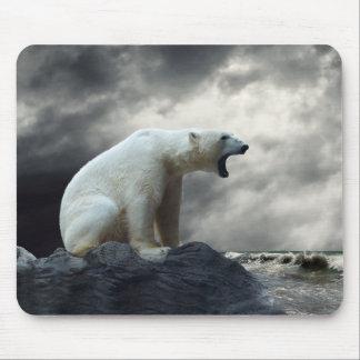 Eisbär-BrüllenMausunterlage Mauspad