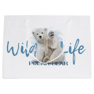 Eisbär Große Geschenktüte