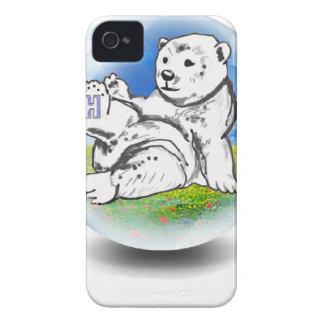 Eisbär in der Blase iPhone 4 Hüllen