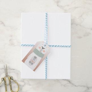 Eisbär - kalte Außenseite - Geschenkanhänger