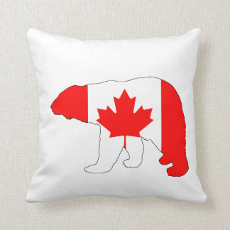 """Eisbär """"Kanada """" Kissen"""