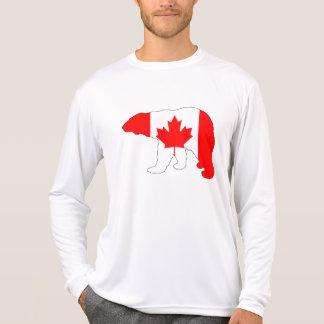 """Eisbär """"Kanada """" T-Shirt"""