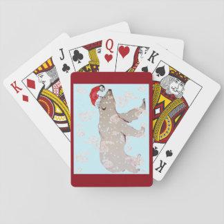 Eisbär Paisleys Sankt Pokerdeck