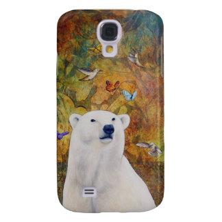 Eisbär-Traum Galaxy S4 Hülle