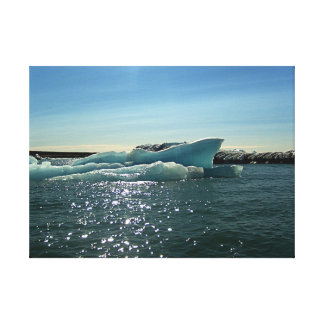 Eisberg-Leinwand Leinwanddruck