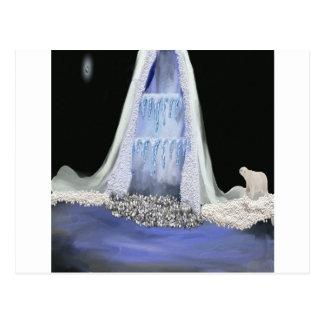 Eisberg Postkarte