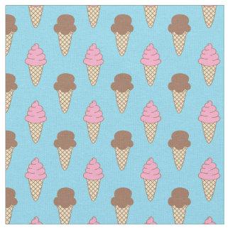 Eiscreme-Muster, Spaß-Sommer-Gewebe Stoff