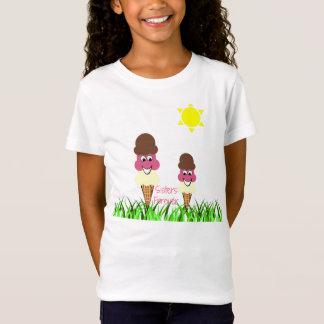 Eiscreme-Schwestern für immer T-Shirt