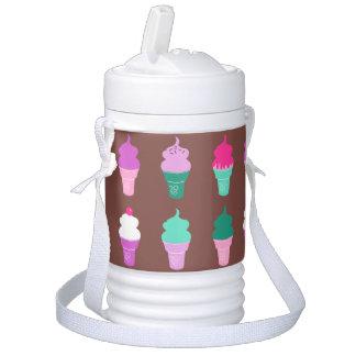 Eiscremekegelwasser cooler igloo getränke kühlhalter