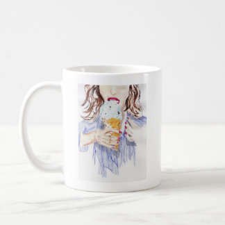 Eiscrememädchen Tasse