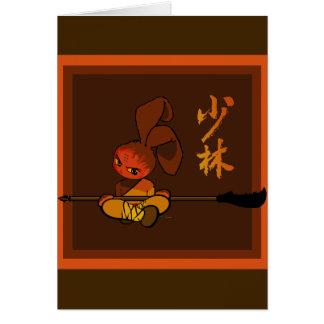Eisen shaolin Häschen kwan dao Karte