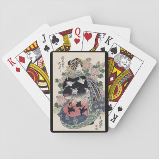 Eisen Ukiyo-e Geisha-Spielkarten Spielkarten