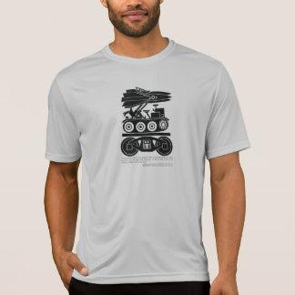 Eisenbahnen bewegten 90% aller Fracht in Weltkrieg T-Shirt