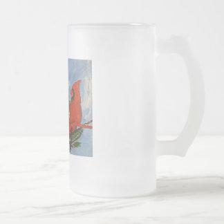 Eisige Tasse des Kardinals