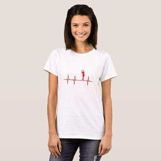 Eiskunstläuferin Puls T-Shirt