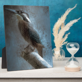 Eisvogel Fotoplatte