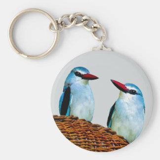 Eisvogel-Vögel Südafrika Schlüsselanhänger