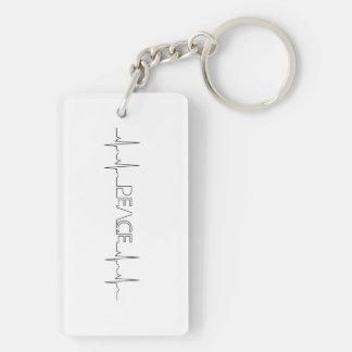 EKG Krankenschwester keychain Schlüsselanhänger