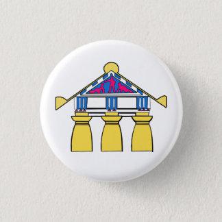 Eklektischer Haus-Knopf Robert Venturis (1 von 5) Runder Button 3,2 Cm
