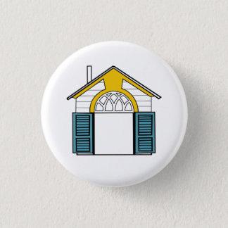Eklektischer Haus-Knopf Robert Venturis (4 von 5) Runder Button 3,2 Cm