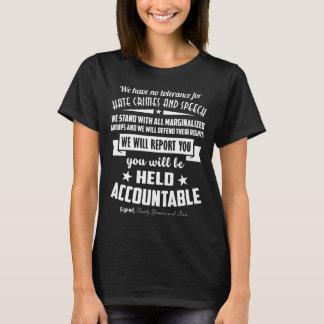 Eklige Frauen und Männer gegen Hass-Verbrechen u. T-Shirt