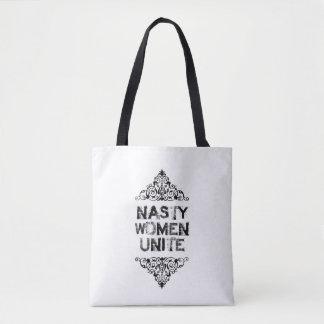 Eklige Frauen vereinigen Taschen-Tasche Tasche