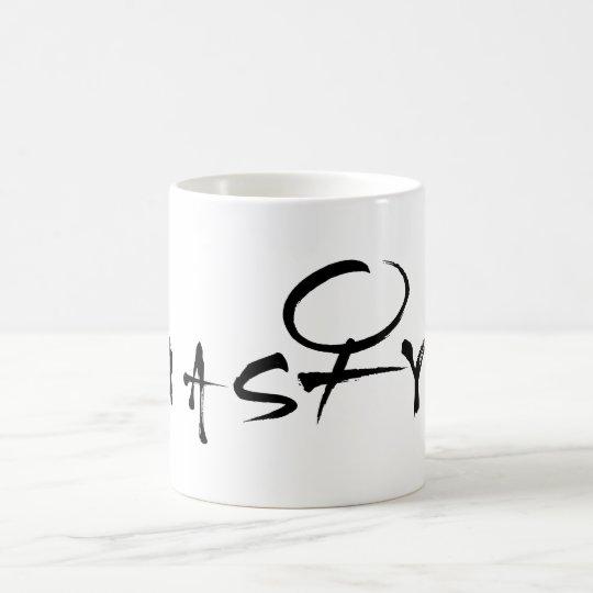 Eklige Frauen-weibliche Symbol-Tasse Kaffeetasse