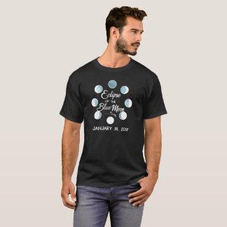 Eklipse des blauer Mond-T - Shirt 2018