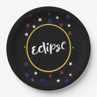 Eklipse-Party-Papier-Teller Pappteller 22,9 Cm