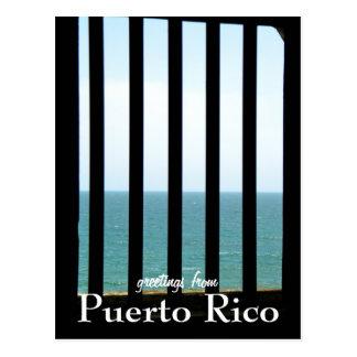 EL Morro, Puerto Rico Postkarte