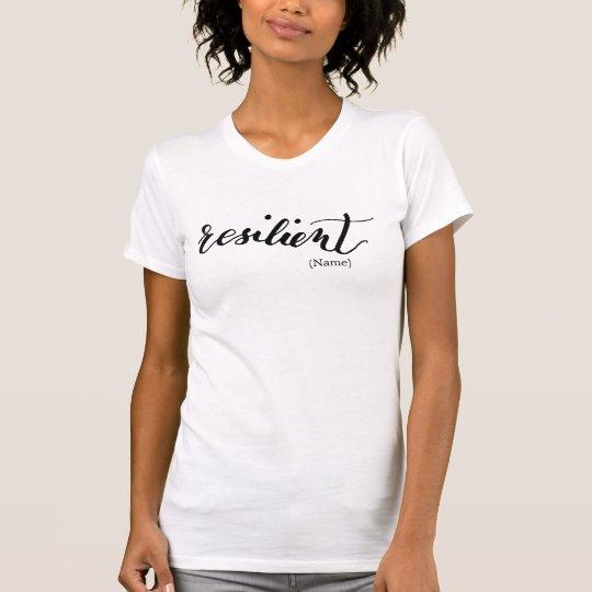 Elastische Gewohnheit T-Shirt