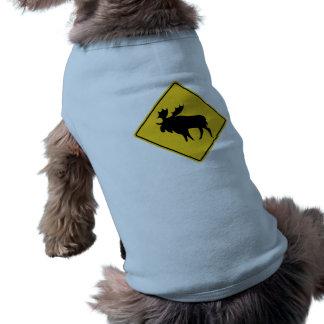 Elch-Warnung, Verkehrsschild, Kanada Shirt
