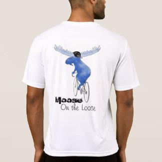 Elche auf dem losen T-Shirt