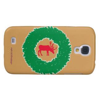 Elche für glückliche Feiertags-Elche des Galaxy S4 Hülle