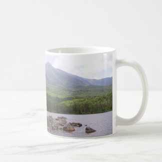 Elche im Teich Kaffeetasse