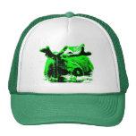 Elchgrün Mütze
