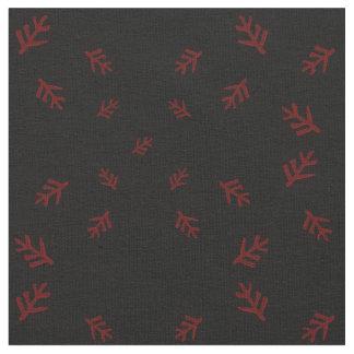 Eldritch Sammlung: Älteres Zeichen ganz über (Rot) Stoff