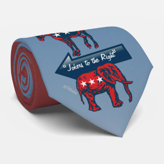 #election2016 politischer Präsident Clowns u. Individuelle Krawatte