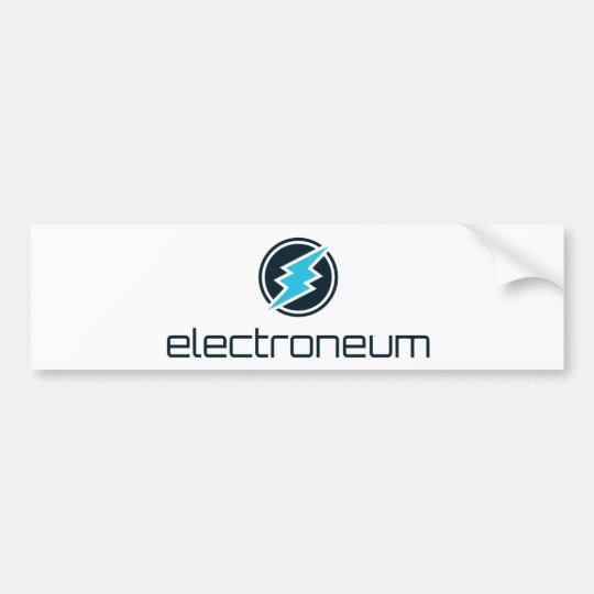 Electroneum (ETN) Logo Sticker Autoaufkleber