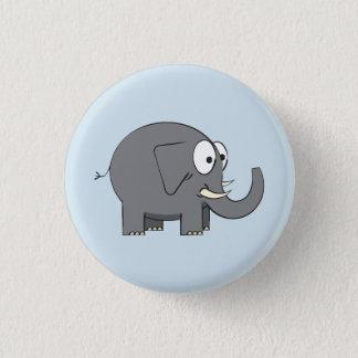 Elefant-Abzeichen Runder Button 2,5 Cm