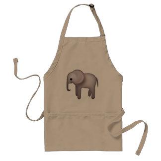 Elefant - Emoji Schürze