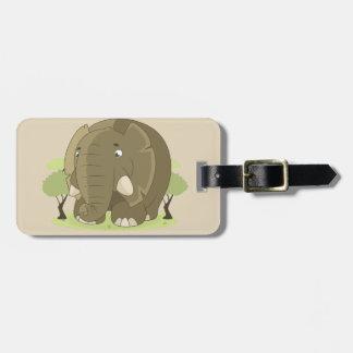 Elefant-Gepäckanhänger Gepäckanhänger