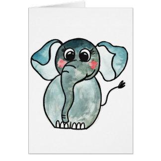 Elefant Karte